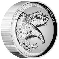 Australien - 8 AUD Wedge Tailed Eagle 2020 - 5 Oz Silber PP HR
