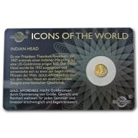 Ruanda - 10 RWF Icons of the World (Diverse) - 1/200 Oz Gold