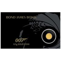 Tuvalu - 2 AUD James Bond 007 2020 - 0,5g Gold