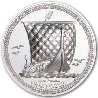 Isle of Man - 1 One Noble 2020 - 2 Oz Silber PP