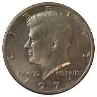 USA - 1/2 USD Half Dollar Kennedy (1971 bis 1974) - Münze