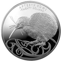 Neuseeland - 20 NZD Kiwi 2020 - 1 KG Silber HighRelief Proof