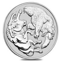 Australien - 30 AUD Bull and Bear 2020 - 1 KG Silber