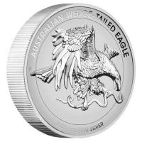 Australien - 1 AUD Wedge Tailed Eagle 2021 - 1 Oz Silber RPHR