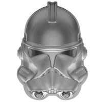 Niue - 5 NZD Star Wars Clone Trooper(TM) Büste 2021 - 2 Oz Silber HighRelief