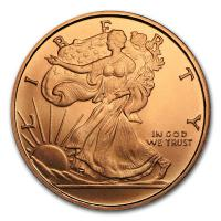 USA - Walking Liberty Eagle - 1/2 Oz Kupfer
