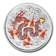 China - 50 Yuan Lunar Drache 2012 - 5 Oz Silber Color