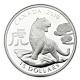 Kanada - 15 CAD Lunar Tiger 2010 - 1 Oz Silber