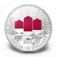 Kanada - 10 CAD Weihnachtskerzen 2013 - 1/2 Oz Silber