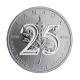 Kanada - 5 CAD Maple Leaf 25 Jahre - 1 Oz Silber