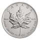 Kanada - 5 CAD Maple Leaf 1989 - 1 Oz Silber