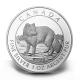 Kanada - 5 CAD Polarfuchs 2014 - 1 Oz Silber PP