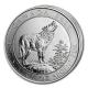Kanada - 2 CAD Grauer Wolf 2015 - 3/4 Oz Silber