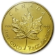 Maple Leaf - 1/2 Oz Gold