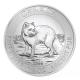 Kanada - 8 CAD Polarfuchs 2014 - 1,5 Oz Silber