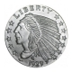USA - American Indian Head - 1 Oz Silber
