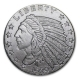 USA - American Indian Head 2014 - 1/2 Oz Silber