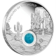 Australien - 1 AUD Treasures of the World North America 2015 - 1 Oz Silber