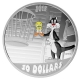 Kanada - 30 CAD Looney Tunes Birds Anonymous - 2 Oz Silber