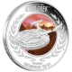 Tuvalu - 1 TVD Star Trek Enterprise NX-01 - 1 Oz Silber