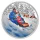 Kanada - 10 CAD Winterfun 2016 - 1/2 Oz Silber