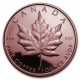USA - Maple Leaf - 1 Oz Kupfer