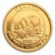 Kanada - 10 CAD Polarbär und Junges 2015 - 1/4 Oz Gold
