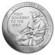 USA - 0,25 USD Kentucky Cumberland Gap 2016 - 5 Oz Silber