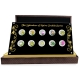 Singapur - 10 SGD 10-Coin Orchideen Set 2016 - Silber Proof