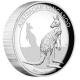Australien - 1 AUD Känguru 2016 - 1 Oz Silber HighRelief