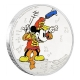 Niue - 2 NZD Disney Mickey Mouse Die Band 2016 - 1 Oz Silber