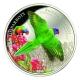 Cook Island - 5 CID Regenbogenlori 2015 - 20g Silber Proof