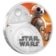 Niue - 2 NZD Star Wars Episode VII BB8 - 1 Oz Silber PP
