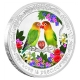 Niue - 2 NZD Love is Precious Lovebirds - 1 Oz Silber PP
