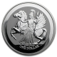 British Virgin Islands - 1 Dollar Pegasus 2017 - 1 Oz Silber