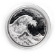 Fiji - 1 FJD The Great Wave 2017 - 1 Oz Silber