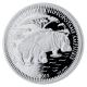 Tschad - 1000 Francs Nilpferd 2015 - 1 Oz Silber