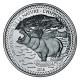 Tschad - 1000 Francs Nilpferd 2016 - 1 Oz Silber
