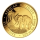 Somalia - 50 Shillings Elefant 2017 - 1/25 Oz Gold