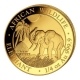 Somalia - 200 Shillings Elefant 2017 - 1/4 Oz Gold