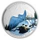 Kanada - 20 CAD Landschaftsillusion Schneeeule - 1 Oz Silber