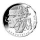 Deutschland - 20 EUR 125. Geb Otto Dix 2016 - Silber Spiegelglanz