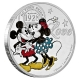 Niue - 2 NZD Disney Crazy in Love 2017 - 1 Oz Silber