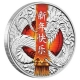 Tuvalu - 1 TVD Chinese New Year Dragon 2017 - 1 Oz Silber