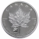 Kanada - 5 CAD Maple Leaf 2017 - 1 Oz Silber Privy Kanada
