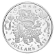Kanada - 8 CAD Lion Dance 2017 - Silber Proof