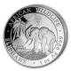 Somalia - African Wildlife Elefant 2017 WMF Berlin - 1 Oz Silber