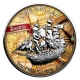 Cook Island - 1 CID Bounty 2016 - 1 Oz Silber Color