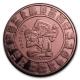 USA - Kalender der Maya - 1 Oz Kupfer