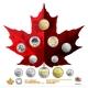 Kanada - 9,05 CAD 150 Jahre Kanada 2017 - 12 Münzen ...
